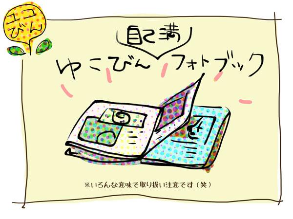 リンあれ3周年プレゼント、番外ユコびん賞フォトブック