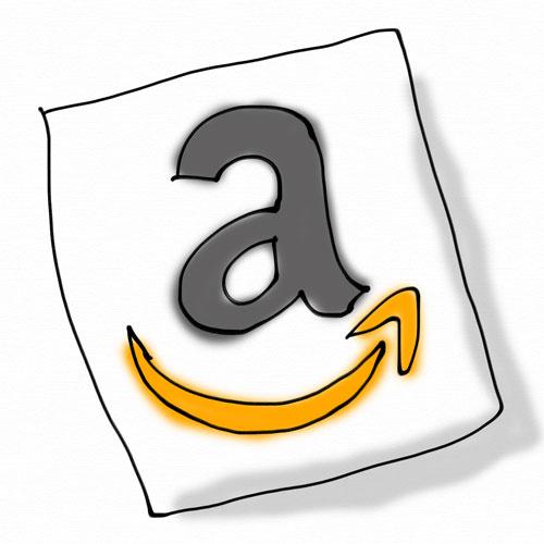 Amazonのアイコンイメージ手書き(笑)