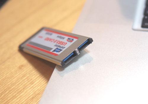 GMYLE USB3.0 ExpressCard スロットは2個