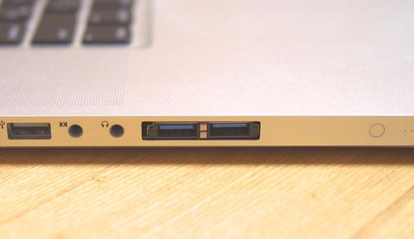 USB3.0 ExpressCardがハマっているMacBook Pro 17