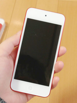 iPod touch 5th (PRODUCT) RED