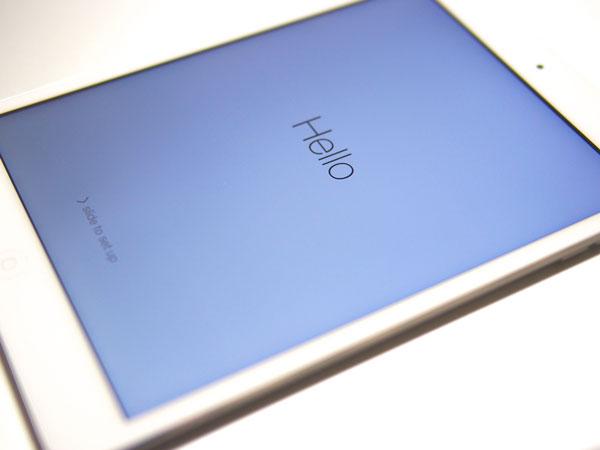 iPad mini Retina シルバー 128GBを入手