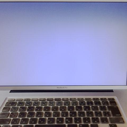 "MacBook Pro 17""立ち上がらず"