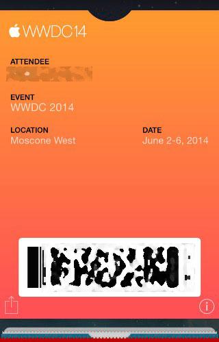 WWDCのレジスト用(Passbook)