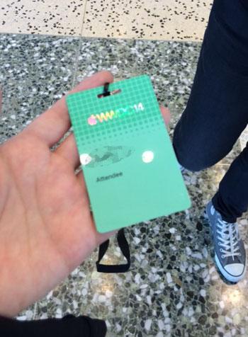 WWDCネームカード