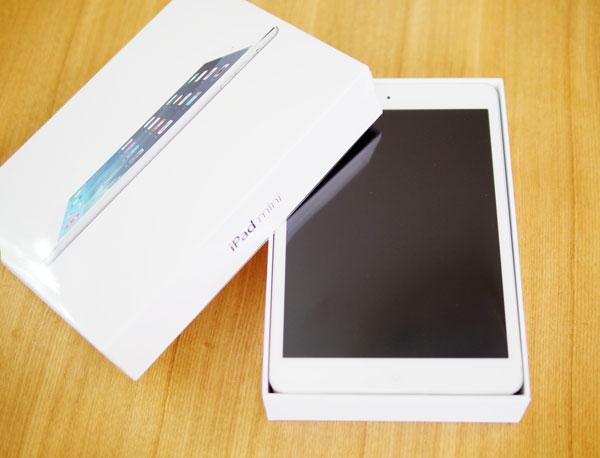 日本のApple Storeの公式に販売されてるSIMフリーiPad mini Retina セルラー版