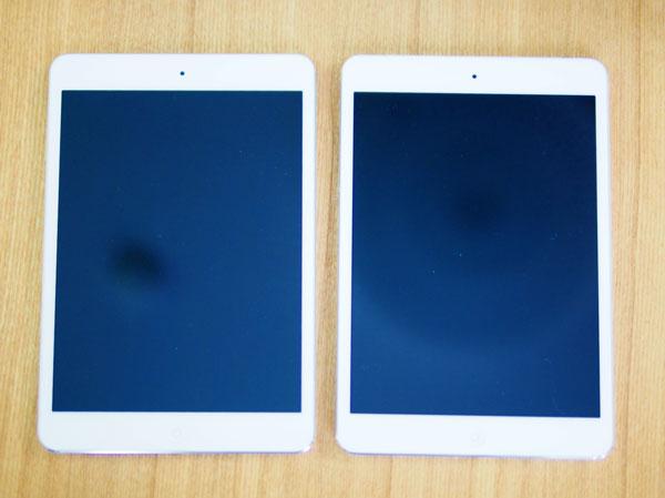 日本のApple Storeの公式に販売されてるSIMフリーiPad mini Retina セルラー版とWi-Fi版