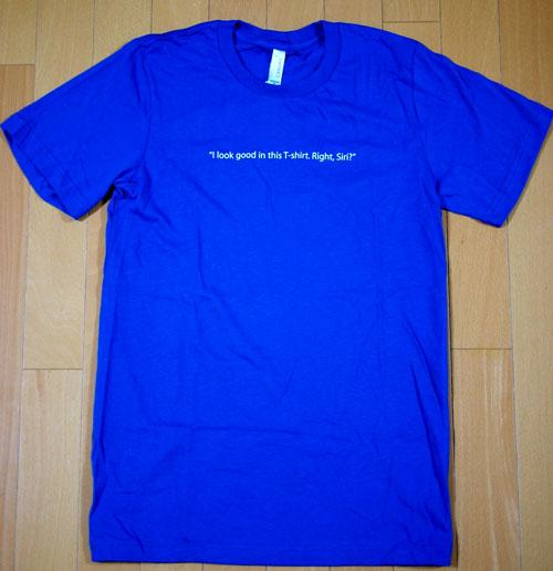 SiriのTシャツ