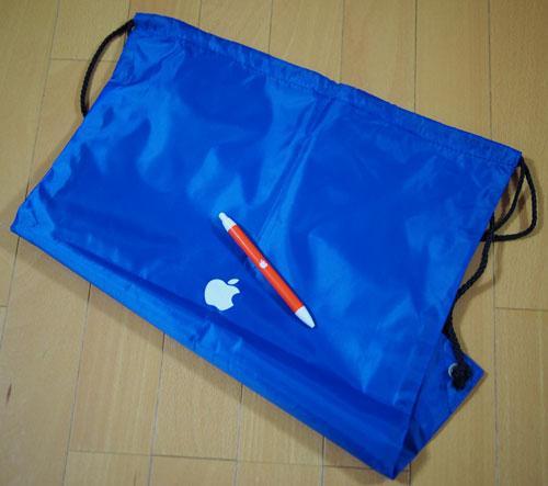 Apple袋とAppleボールペン1