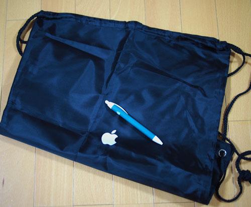 Apple袋とAppleボールペン2