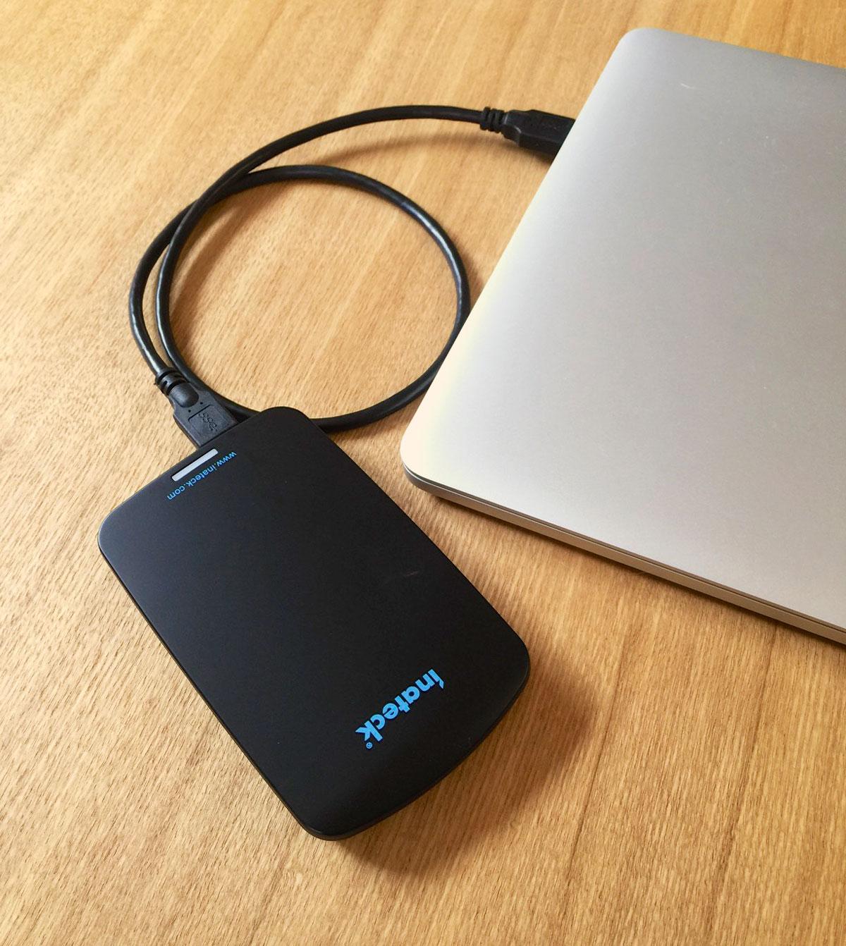 Inateck FEU3NS-1E USB 3.0 HDDケース 工具不要 UASP対応