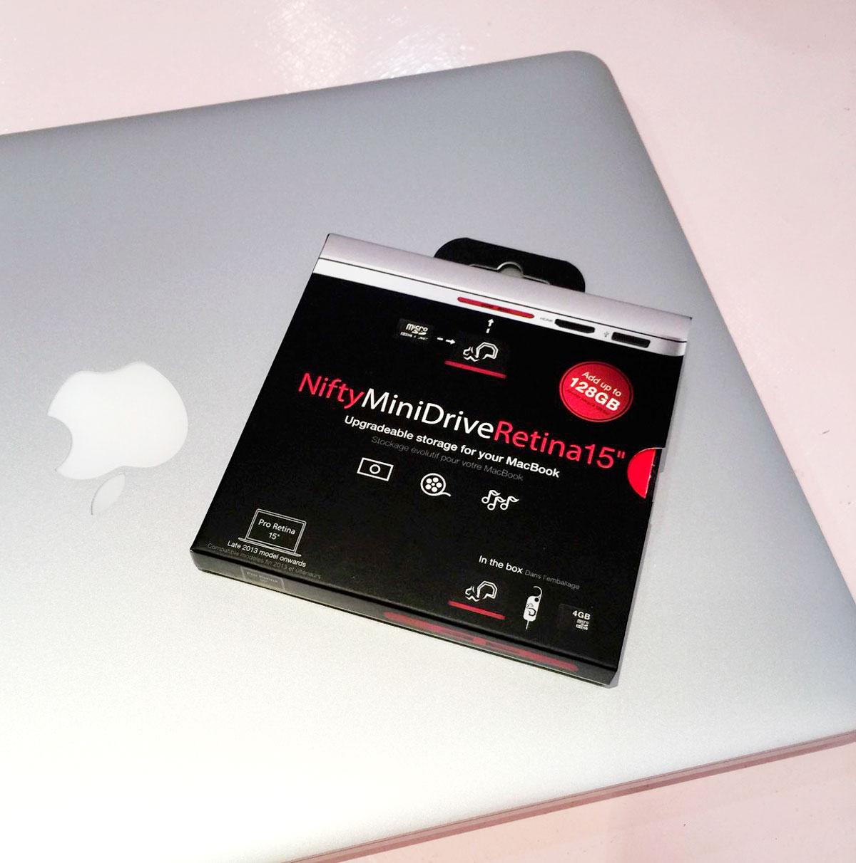 MacBook Pro(Air)のSDカードスロットを活かした拡張ミニストレージNifty