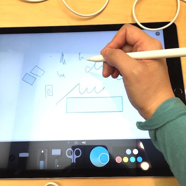 iPad ProとApple Pencil。初めて触った感動体験。