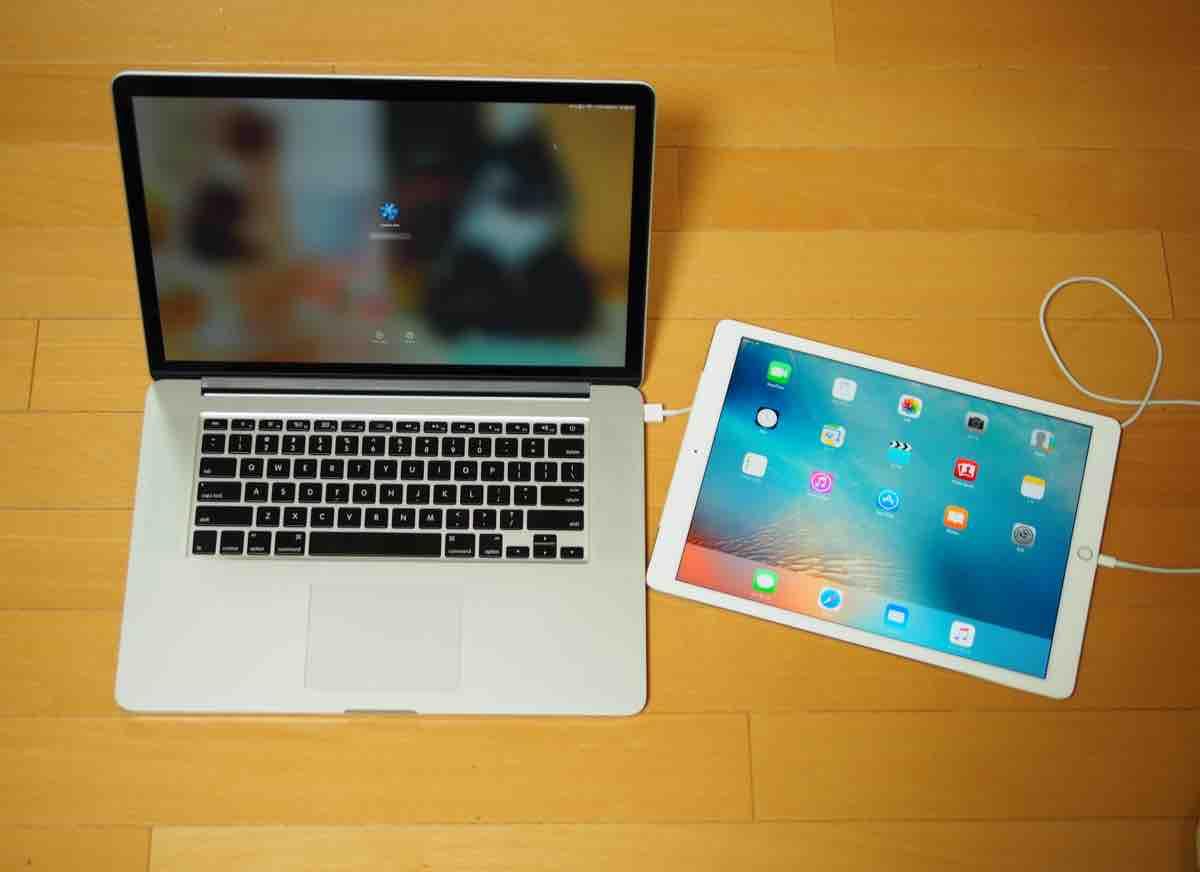 iPad ProをMacBook Proの外付けディスプレイとして使ってみよう。
