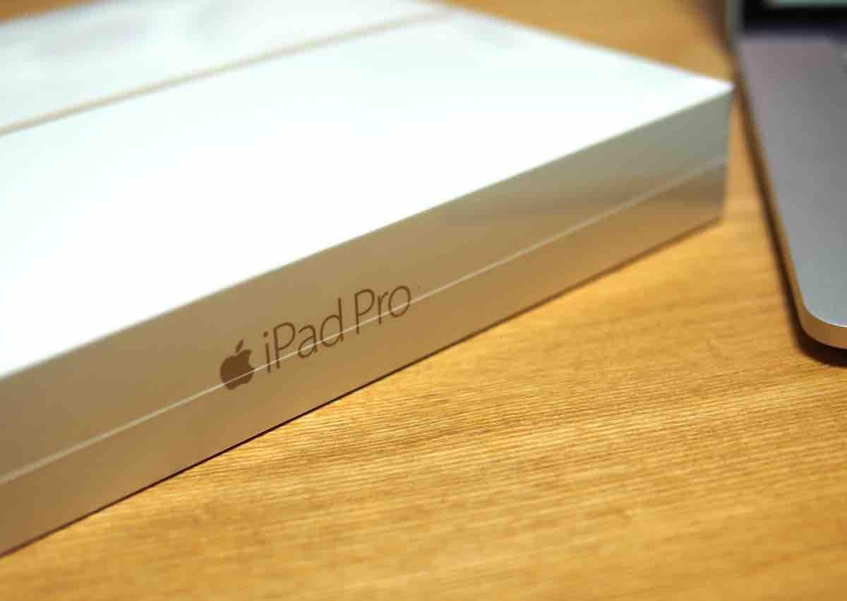iPad Proが最速で届きました!