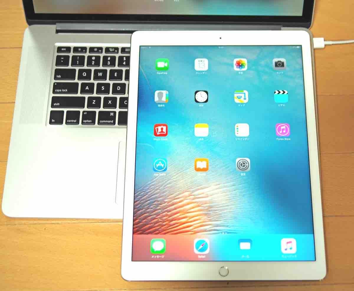 iPad Proはとにかく大きい!
