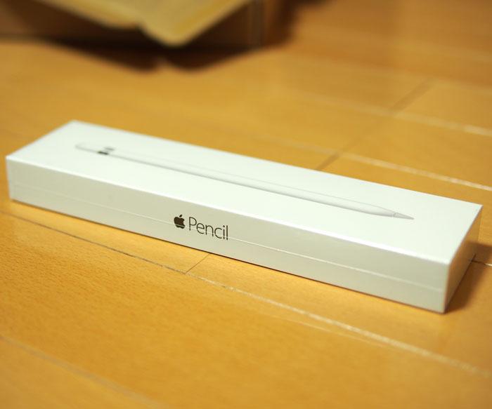 Apple Pencilのパッケージ、かっこいい