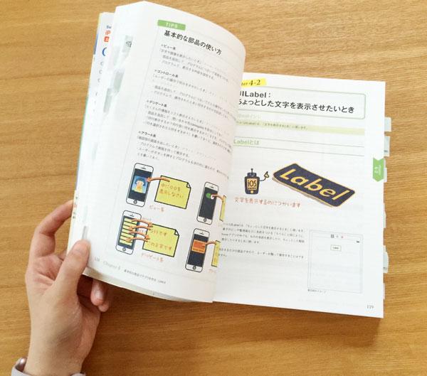 Swiftではじめる iPhoneアプリ開発の教科書 【Swift 2&Xcode 7対応】はカラーで図版もたくさんでわかりやすい