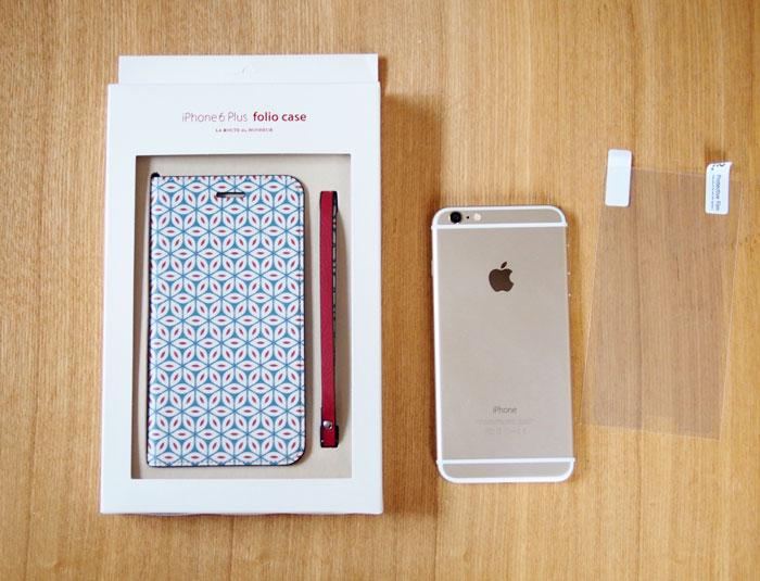 invite.L Foliocase Pattern for iPhone6/6s iPhone6/6s Plusケース