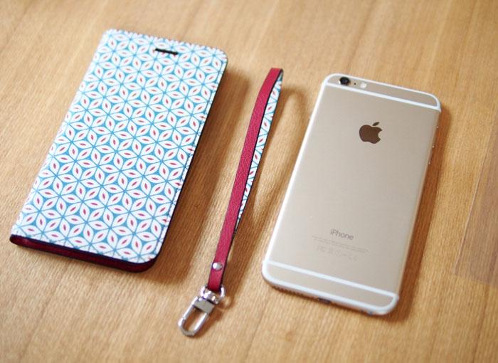 invite.L Foliocase Pattern for iPhone6/6s iPhone6/6s Plusケース 手帳型のケースはいい