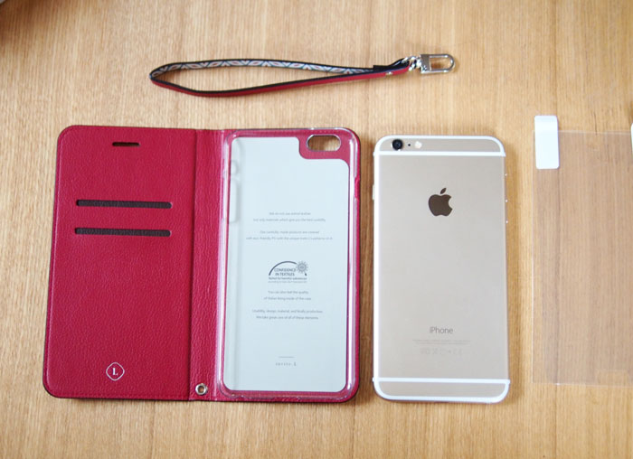 invite.L Foliocase Pattern for iPhone6/6s iPhone6/6s Plusケース ストラップ付きなのが特にオススメ