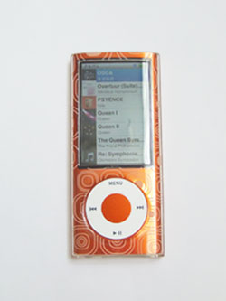 iSkin Vibes for iPod nano 5G表面