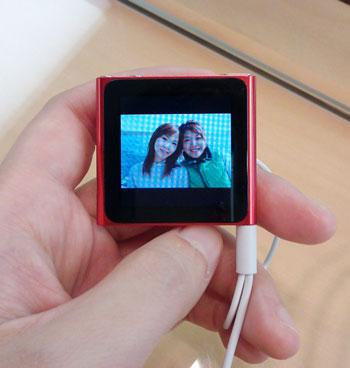 iPod nano写真は見づらい