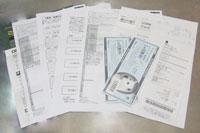 iPhone4の契約書類