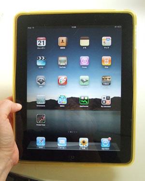 合宿で大人気iPad