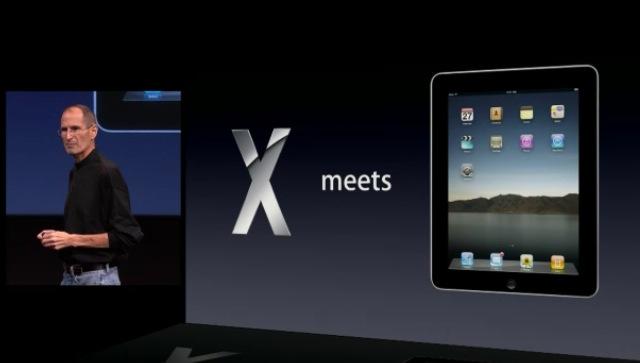 Mac OS X meets iPad