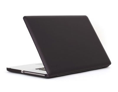 Speck MacBook Pro 17インチ「SeeThru Satin」Black
