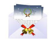 サンタさんへの手紙アイコン