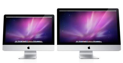 iMac21.5インチと27インチ