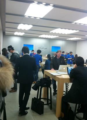 Apple Store渋谷2F