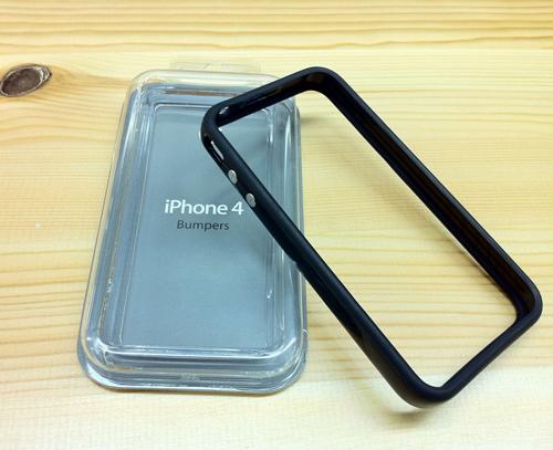 iPhone4用純正バンパーを貰ってほくほく