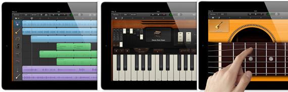 ガレージバンド for iPadイメージ