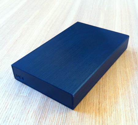 ポータブルハードディスクLaCie rikiki USB3.0の外観