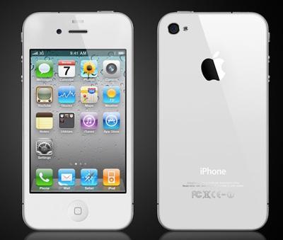 iPhone4ホワイトイメージ