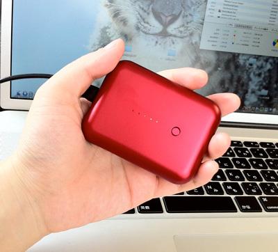 Just Mobile Gum Plusは手のひらサイズでちっちゃくてかわいい