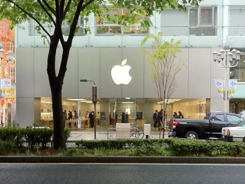 Apple Store名古屋栄 外観