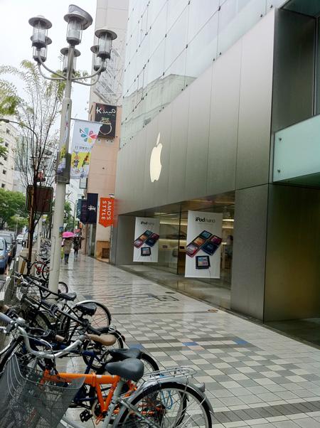 Apple Store名古屋栄が見えた!