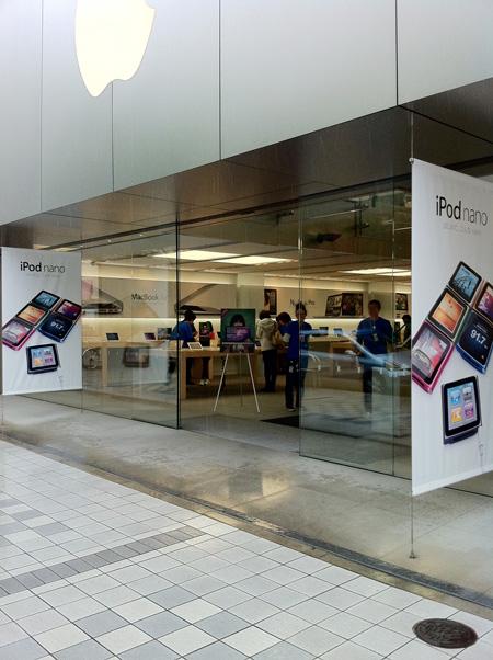 Apple Store名古屋栄に入りましょう