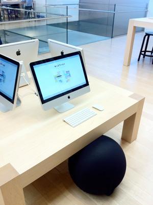 Apple Store名古屋栄 キッズコーナー