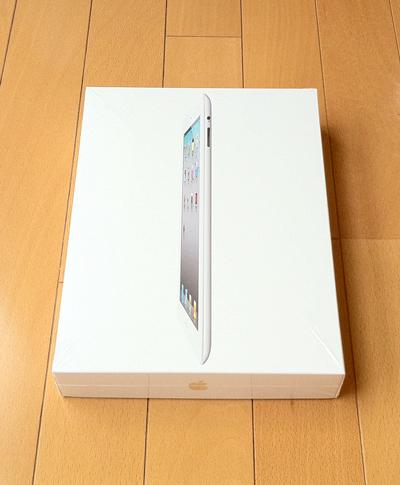 iPad2白 パッケージ(外箱)