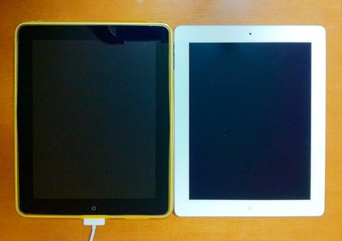 iPad1とiPad2、マイクロソリューションの保護フィルムがどう進化したかチェック1