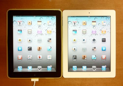 iPad1とiPad2、マイクロソリューションの保護フィルムがどう進化したかチェック2