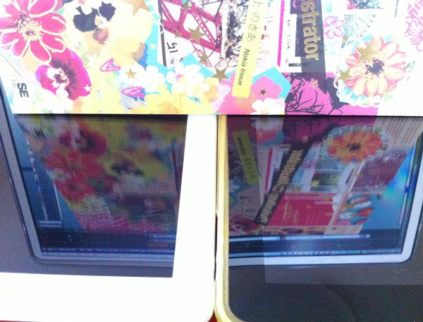 iPad 2 高防汚 PRO GUARD ARSHの反射防止は伊達じゃなかった!
