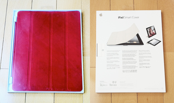 Smart Cover  (PRODUCT) REDのパッケージ。表裏。
