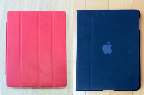 Apple純正品iPad 2専用 Smart Coverと初代iPad Caseの比較