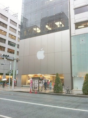 2011.5.22 Apple Sotre 銀座